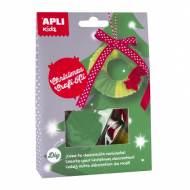 APLI 14949. Kit manualidades Corona Navidad