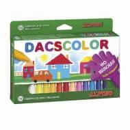 ALPINO DC050290. Estuche de 12 ceras Dacscolor. Colores surtidos
