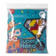 APLI 15018. Kit manualidades Super hero party