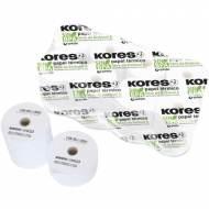 KORES 56658300. Pack 8 rollos de papel térmico sin PBA de 80x45x12 mm.