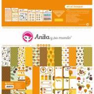 GRAFOPLAS 37080728. Kit maletín Scrapbooking colección En el bosque de Anita y su mundo