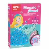 APLI 15067. Kit manualidades Mosaico Diamante