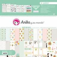 GRAFOPLAS 37080729. Kit maletín Scrapbooking colección Sí, quiero de Anita y su mundo