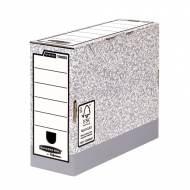 Fellowes 1080501. Caja de archivo definitivo A4 100 mm. gris
