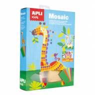 APLI 15114. Kit manualidades Mosaico Goma EVA Sabana