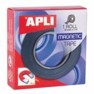 APLI 13830. Cinta adhesiva magnética (19 mm x 1 m)