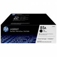 HP 85A - Toner Laser original Nº 85 A Negro, pack 2 - CE285AD