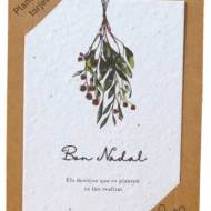 SHEEDO Tarjeta plantable - Bon Nadal