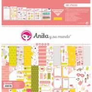 GRAFOPLAS 37080735. Kit maletín Scrapbooking colección De Chicas de Anita y su mundo