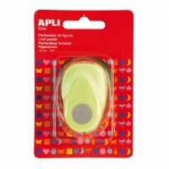 APLI 13632. Perforadora de papel figura Círculo (16 mm.)