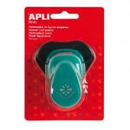 APLI 13637. Perforadora de papel Esquina flor (25,4 mm.)