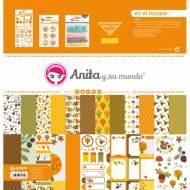 GRAFOPLAS 37080628. Kit bolsa Scrapbooking colección En el bosque de Anita y su mundo