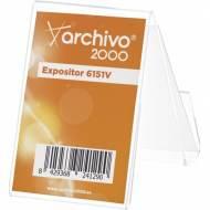ARCHIVO 2000 Portatarjetas de sobremesa vertical - 6151VCSTP