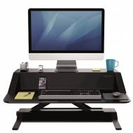 Fellowes 0007901. Estación de trabajo Sit-Stand Lotus negro