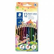 STAEDTLER 185 C12. Estuche de 12 lápices de colores Noris colour. Colores surtidos