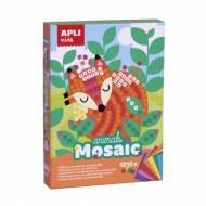APLI 14289. Kit manualidades Mosaico goma eva Animales