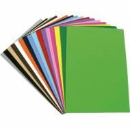 GRAFOPLAS 00036422. Pack 10 láminas de Goma Eva de 20 x 30 cm. Color verde oscuro