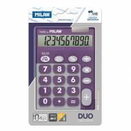 MILAN Calculadora sobremesa Duo 10 dígitos
