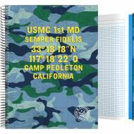 GRAFOPLÁS 16502604. Cuaderno tapa dura A4, 100 hojas, Master & Commander Azul