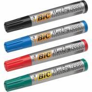 BIC Marking 2000. Marcador permanente de punta cónica Trazo 1.7 mm.
