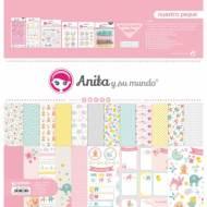 GRAFOPLAS 37080744. Kit maletín Scrapbooking colección Nuestra peque de Anita y su mundo