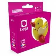 Iberjet E443. Cartucho de tinta compatible premium, reemplaza a Epson C13T04434020 / C13T04534010.
