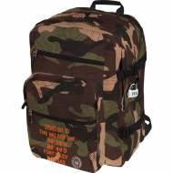 GRAFOPLAS 37501905. Mochila escolar Bigpack Master & Commander Verde