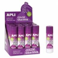 APLI 14392. Pack 12 barras adhesivo invisible (21 gr.)