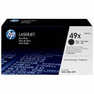 HP 49X - Toner Laser original Nº 49 X Negro Pack 2 - Q5949XD