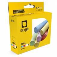 Iberjet E804. Cartucho de tinta compatible, reemplaza a Epson C13T08044020