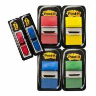 POST-IT Indices Adhesivos medianos. Pack 4udx50 12x43,1 + 2 flechas regalo - 70005056984