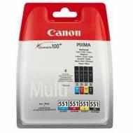 CANON Cartuchos Inyeccion CLI-551 RAINBOW BLIS 6509B009