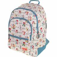 GRAFOPLAS 37500157. Mochila escolar Rubber Nina Friends