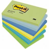 POST-IT Notas adhesivas Gama Fantasia. Pack 6 blocs 100h 76x127mm. Colores surtidos - FT510283524