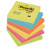 POST-IT Notas adhesivas Gama Energia. Pack 6 blocs 100h 76x76mm - FT510283540
