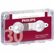 PHILIPS Microcassete para grabadoras (30 minutos) - LFH0005