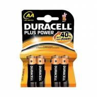 DURACELL Pack 4 Pilas alcalinas Plus Power LR6-E91 (AA) - 75038386