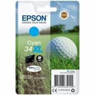 Epson 34XL Cartucho de tinta original cian C13T34724010