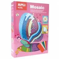 APLI 13913. Kit manualidades Mosaico goma eva Primavera