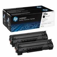 HP 35A - Toner Laser original Nº 35 A Negro Pack 2 - CB435AD
