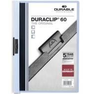 DURABLE 220906. Dossiers con clip Duraclip 60 A4. Capacidad 60 hojas Azul claro