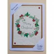 SHEEDO US14518. Tarjeta plantable - Merry Christmas