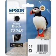 Epson T3248 Cartucho de tinta original negro mate C13T32484010