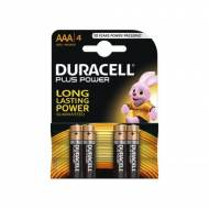 DURACELL Pack 4 pilas alcalinas Plus Power LR03-E92 (AAA) - 75038387