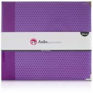 GRAFOPLAS 37054035. Álbum Scrapbooking espumado violeta estrellas de Anita y su mundo