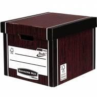 Fellowes 7260501. Contenedor de archivos Premium marrón