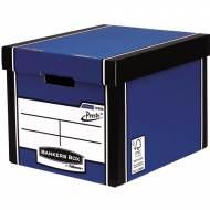 Fellowes 7260601. Contenedor de archivos Premium azul
