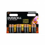 DURACELL Pack 8 pilas alcalinas Plus Power LR6-E91 (AA) - 394017764