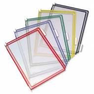 TARIFOLD Pack 10 fundas con pivotes A4. Colores surtidos - 114009