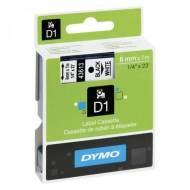 DYMO Cinta D1 (6 mm x 7 m) Negro sobre blanco -  S0720780